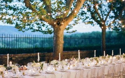 Vineyard Wedding for 60 Guests in Tuscany