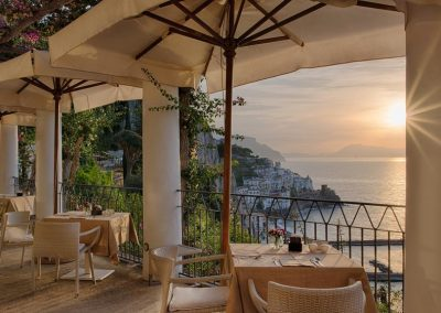outdoor wedding amalfi coast