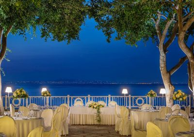 Wedding venue by sea Italy