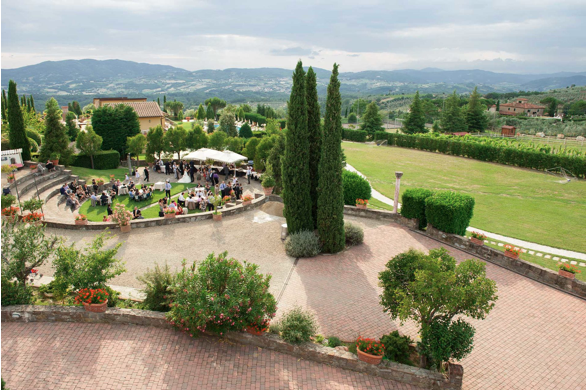 T36 Large Venue near Florence for 100-170 guests